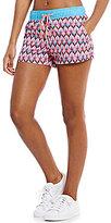 Jadelynn Brooke Aloha Darling Printed Workout Shorts