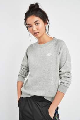 Nike Womens Essential Fleece Crew - Grey