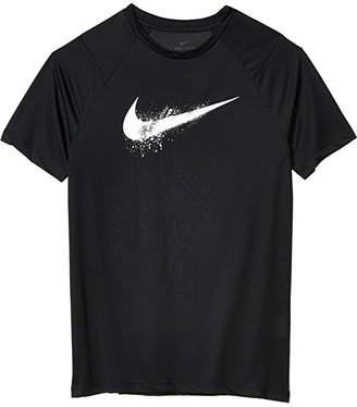 Nike Kids Dominate GFX Short Sleeve T-Shirt (Big Kids) (Black/White) Boy's T Shirt