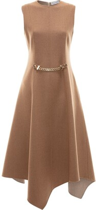 J.W.Anderson Chain Detail Asymmetric Dress