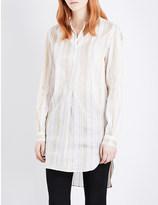 Ann Demeulemeester Stripe-print shirt