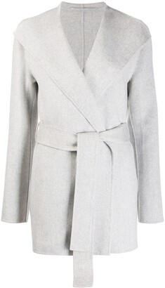 Joseph Belted Double-Breasted Coat