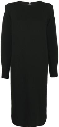 Agnona Long-Sleeve Jumper Dress