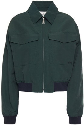 Victoria Victoria Beckham Woven Bomber Jacket