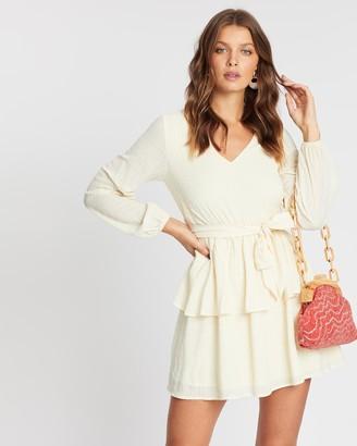 Atmos & Here Everleigh Tiered Mini Dress