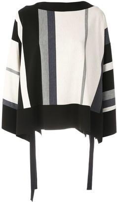 Alcaçuz Robb striped boxy blouse