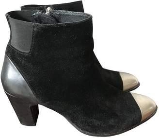 Miista \N Black Suede Ankle boots