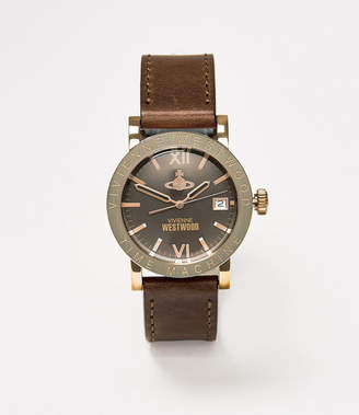 Vivienne Westwood The Kingsgate Watch Brown