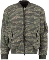 AllSaints MALIN Bomber Jacket khaki/brown