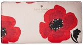 Kate Spade Hyde Lane Poppy Stacy Wallet