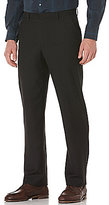 Perry Ellis Big & Tall Regular Fit Flat-Front Solid Pants