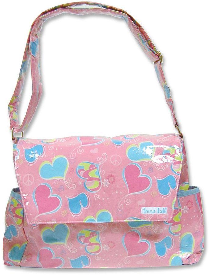 Trend Lab groovy love messenger diaper bag