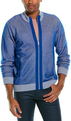 Robert Graham Conboy Wool-Blend Mock Sweater