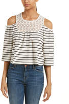 Romeo & Juliet Couture Cold-Shoulder Top