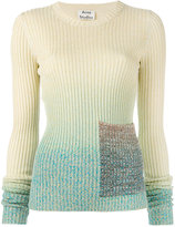 Acne Studios ribbed pocket sweater