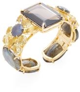 Bounkit Gemstone Mix Cuff Bracelet