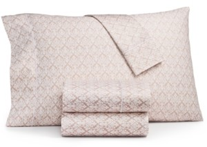 Sunham Fairfield Square Collection Waverly Cotton 450-Thread Count 6-Pc. Full Sheet Set Bedding