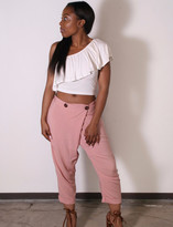 Tysa Wrap Pant In Nude