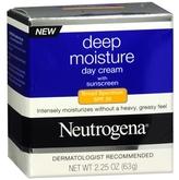 Neutrogena Deep Moisture Day Cream with Sunscreen Broad Spectrum SPF 20