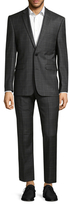 Vince Camuto Criss-Cross Wool Formal Suit