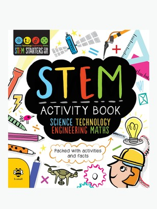 The Book Service STEM Activity Book: Science, Technology, Engineering, Maths Children's Book
