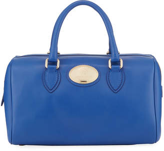 Roberto Cavalli Leather Top Handle Satchel Bag