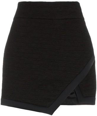 Alexandre Vauthier Wrap Front Miniskirt