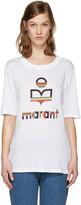 Etoile Isabel Marant White Kendriwa Logo T-Shirt