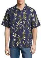Tommy Bahama Bamboozled Silk-Blend Sportshirt