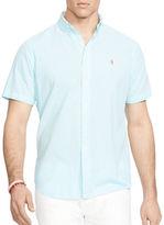 Polo Ralph Lauren Big and Tall Short Sleeve Gingham Seersucker Shirt