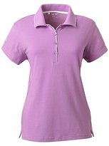 adidas Ladies ClimaLite Tour Jersey Short-Sleeve Polo - A89 S
