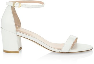 Stuart Weitzman Simple Leather Sandals