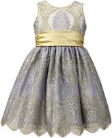 Jayne Copeland Crewneck Lace Dress