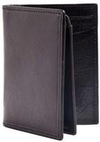 Trafalgar Men's 'Hawthorne' L-Fold Wallet - Black