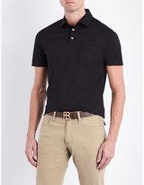 Ralph Lauren Purple Label Patch Pocket Cotton-jersey Polo Shirt