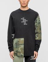 10.Deep Surplus Camo L/S T-Shirt