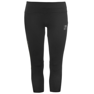 Karrimor Womens X Running Capri Pants Tights Trousers Activewears Breathable Black 10 (S)