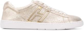 Hogan H327 metallic sneakers