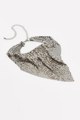Free People Chainmail Necklace