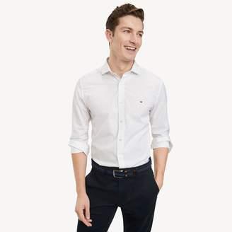 Tommy Hilfiger Custom Fit Essential Short-Sleeve Shirt