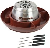 Nostalgia Electrics Electric Stainless Steel S'mores Maker - Brown