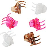 Charlotte Russe Claw Hair Clips - 6 Pack
