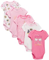 Juicy Couture Bodysuits - Pack of 5 (Baby Girls)