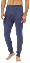 Maine New England Blue Brushed Thermal Bottoms
