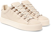 Balenciaga - Arena Full-grain Leather Sneakers