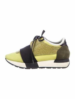 Balenciaga Race Runner Sneakers Green