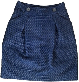 Erotokritos Navy Skirt for Women