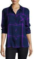 Rails Hunter Plaid Shirt, Navy/Ultraviolet