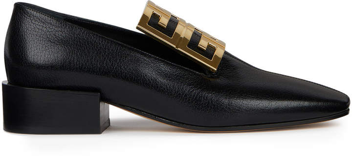 Givenchy 4G Embellished Leather Loafers