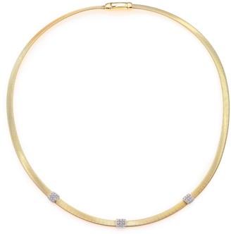 Marco Bicego Masai Diamond, 18K Yellow Gold & 18K White Gold Station Necklace